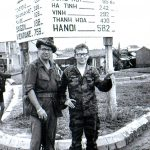 OPCC life member Jim Pringle at work in the Vietnam.