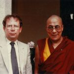 OPCC life member Jim Pringle with the Dalai Lama.