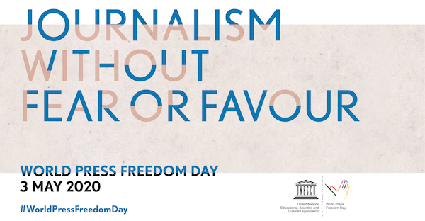 World Press Freedom Day 2020 Statement